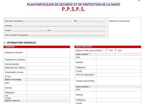 modèle plan de prévention mode op 233 ratoire batiment pdf