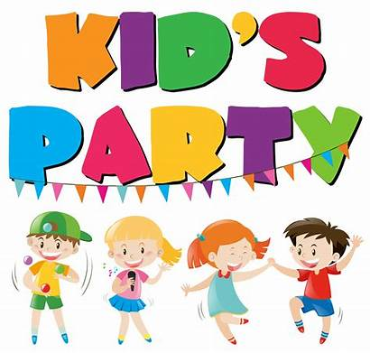 Vector Fun Having Party Many Clipart System