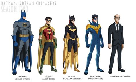 by design season 2 batman gotham crusaders this should be real