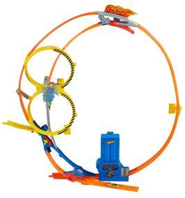 wheels looping bahn wheels looper track set co uk toys