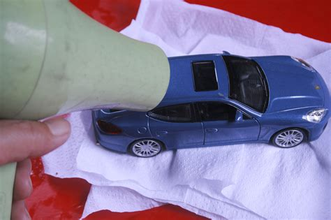 How To Prepare A Model Car For Painting