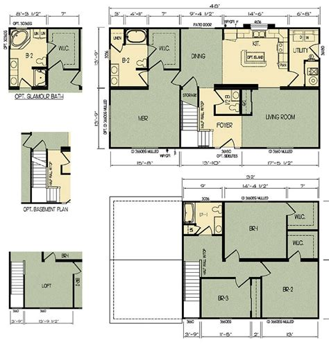 home plans with prices de bamboo complete ritz craft homes floor plans