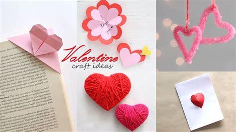 easy valentine craft ideas diy activities handcraft