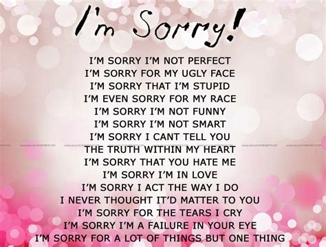 I Quotes Im Sorry Quotes For Him From The