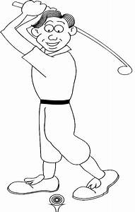 Coloring Pages For Girls  Golf Printable Coloring Pages