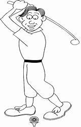 Coloring Golf Printable Sport Boy Themed General Realistic Disney Doing Golfer Widgets Printables Hard Mega sketch template