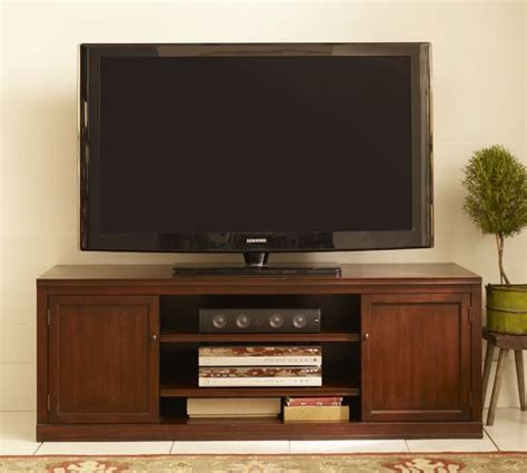 pottery barn tv stand logan large tv stand pottery barn