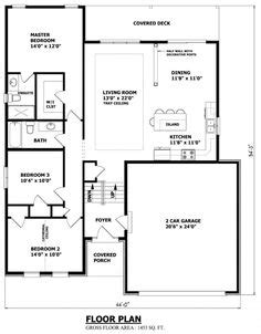 Top Photos Ideas For Raised Bungalow Floor Plans by Houseplans On House Plans Bungalow House