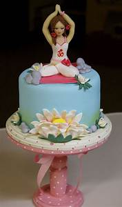 Top Yoga Inspired Cakes - CakeCentral com