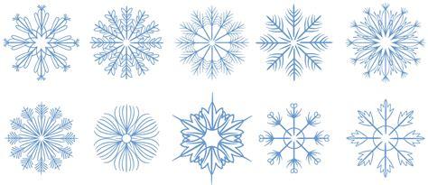 free snowflakes 2 vectors download free vector art