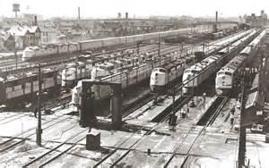 Chicago Northwestern Trains 1950s