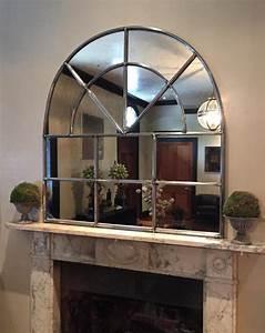 Window Detail Iron Arch Architectural Antique Window Mirror Arch