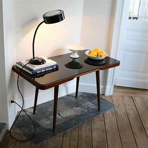 Table Pieds Compas : table d appoint pieds compas noire la maison bruxelloise ~ Teatrodelosmanantiales.com Idées de Décoration