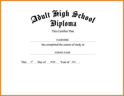 High School Diploma Template 50 Free High School Diploma Template Printable