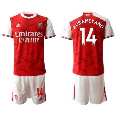 Fotballdrakt Arsenal Pierre-Emerick Aubameyang 14 Barn ...