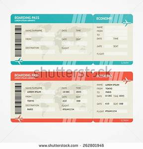 boarding pass templates for invitations gifts With pretend plane ticket template