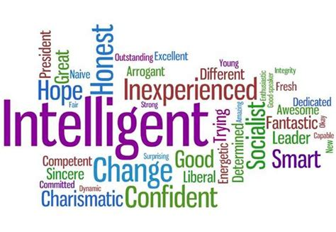 five words to describe you from candidate to president pew research center