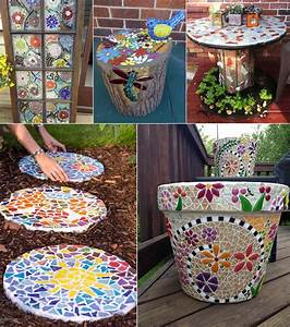 Diy, Mosaic, Projects, For, Your, Garden
