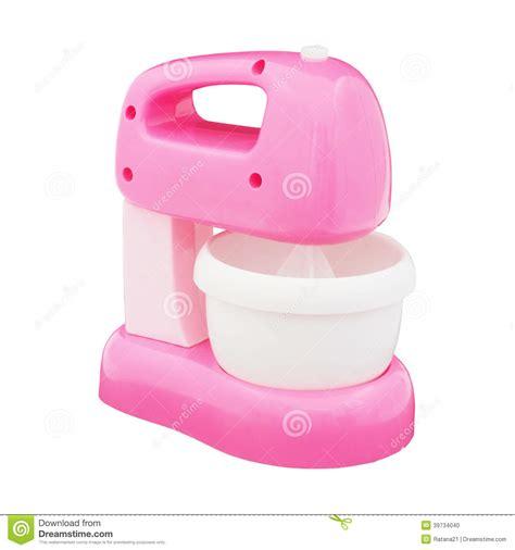 Speelgoed Mixer by Roze Stuk Speelgoed Mixer Stock Foto Afbeelding 39734040