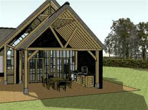 houten huis constructie eiken constructie eiken gebint in vrijstaande villa en
