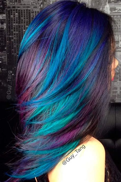 Coloring Hair Blue by Best 25 Beautiful Hair Color Ideas On