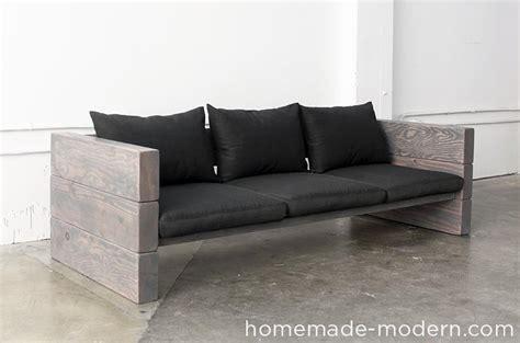 homemade modern ep outdoor sofa