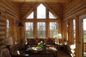 Log Home Photo Sunrooms Loft Office Expedition Various Recommended Traditional And Vintage Sunroom Designs