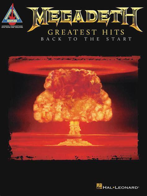 hal leonard megadeth greatest hits    start