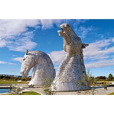 Coloring Without Borders: Monday Exposure: The Kelpies