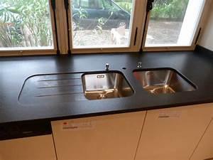 Plan De Travail Cuisine Granit : evier en marbre evier en granit granit marbre ~ Dallasstarsshop.com Idées de Décoration