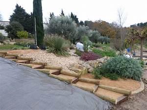 amenagement paysager dun talus 3 la passion des jardins With idees amenagement jardin exterieur 11 ipomee plantation taille et entretien