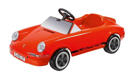 vintage orange porsche carrera rs 2 7 pedal car by porsche choice gear