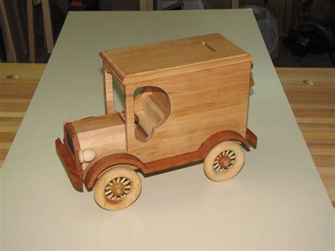 wood wooden truck plans  blueprints  diy