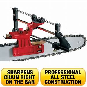 Professional Chainsaw Sharpener