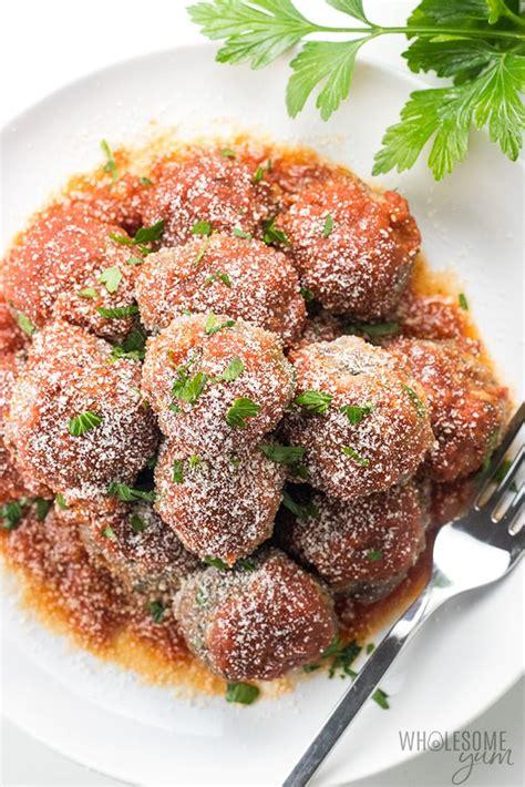 easy keto  carb meatballs recipe italian style