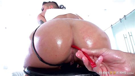 Rachael Madori Gets Her Ass Filled With Candy And Cock