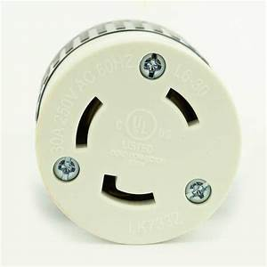Superior Electric Yga017f Twist Lock Electrical Receptacle