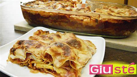 recette de lasagnes à la sicilienne giusté cuisine