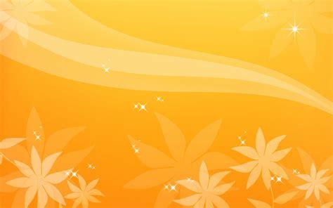 Orange flower desktop - orange background