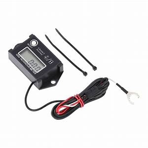 New Arrival Lcd Digital Tachometer Tach  Hour Meter Rpm