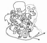 Steven Universe Coloring Pages Printable Template Templates sketch template