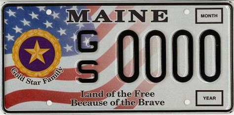 Maine Dmv Vanity Plates by Applications For Gold Family Registration Plates And