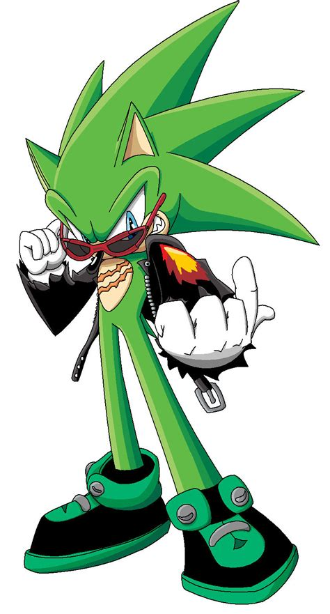 Scourge The Hedgehog By Sweecrue On Deviantart