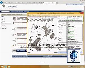 Global Epc Automotive Software  Peugeot Service Box 11 2013 Epc Parts Catalogue  Repair Manuals