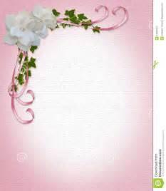 cadre mariage gardenias de cadre d 39 invitation de mariage photographie stock image 10039412