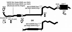 2004 Saturn Ion Exhaust System Diagram