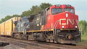 Trains For Children: CN Freight Trains - YouTube