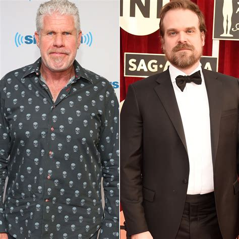 patton oswalt hellboy hellboy ron perlman has epic summit with david harbour