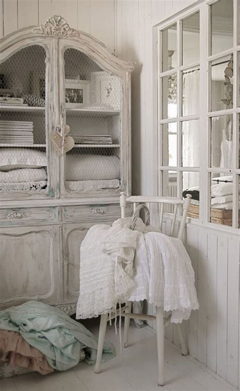 shabby chic white bedroom furniture wardrobe armoire 25 shabby chic ideas for a romantic bedroom