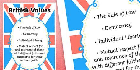 british values poster vocabulary british teacher